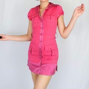 bebe Dresses - Early 00's Bebe shirt dress
